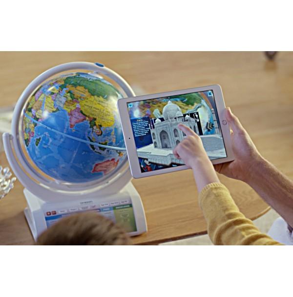 Oregon Scientific SG338R Интерактивный глобус с беспроводной ручкой, дополненная реальность. SG338R