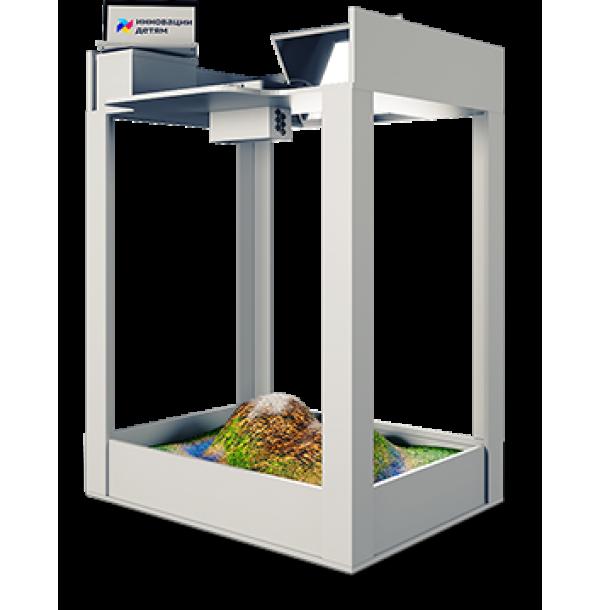 Интерактивная песочница «Домик»