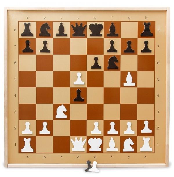Демонстрационные шахматы магнитные. 01756