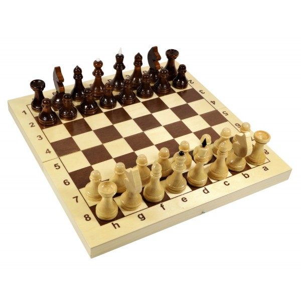 Игра настольная «Шахматы» (деревянные). 02845