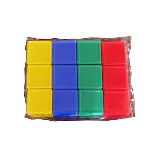 Кубик с бортиком 12шт