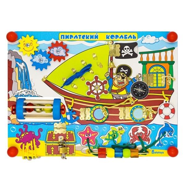 Бизиборд Пиратский корабль ББ109