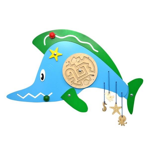 Бизиборд «Рыба пила». НБМ-002