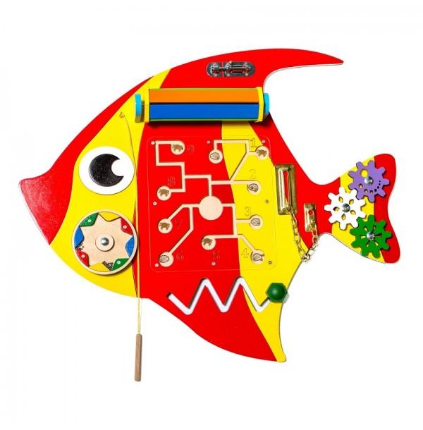Бизиборд «Рыба скалярия». НБМ-004