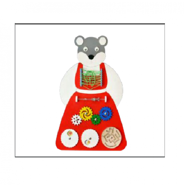 Бизиборд «Мышка Норушка» (НБТ-03)