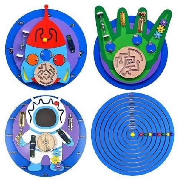 Набор бизибордов «Космическое приключение» (НБК-100)