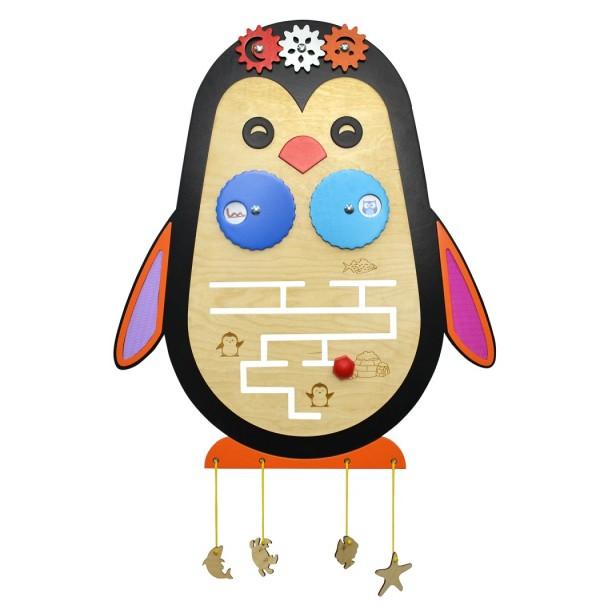 Бизиборд «Пингвин». ТРН-103