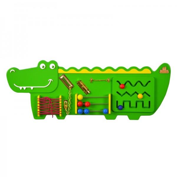 Бизиборд «Крокодильчик» (БЖ-08)