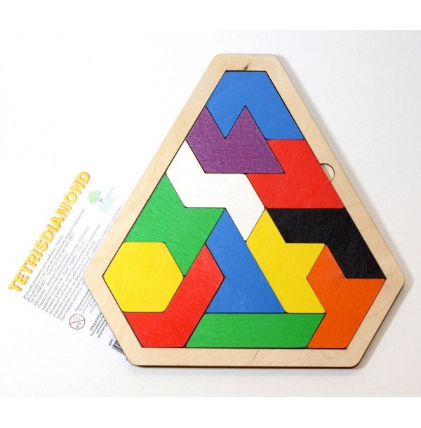 Настольная деревянная игра «Tetrisdiamond». 00797