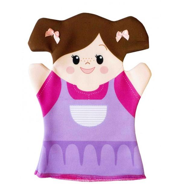 Домашний кукольный театр. Кукла перчатка «Анюта». 03934