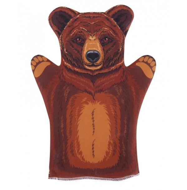 Домашний кукольный театр. Кукла перчатка «Медведь». 03655