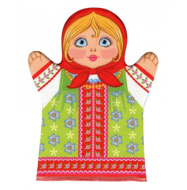 Домашний кукольный театр. Кукла перчатка «Внучка». 03647