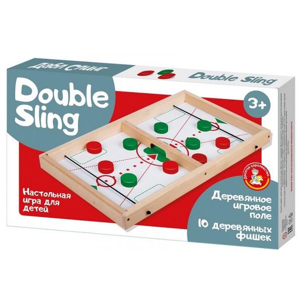 Игра настольная деревянная «Дабл Слинг». 02972