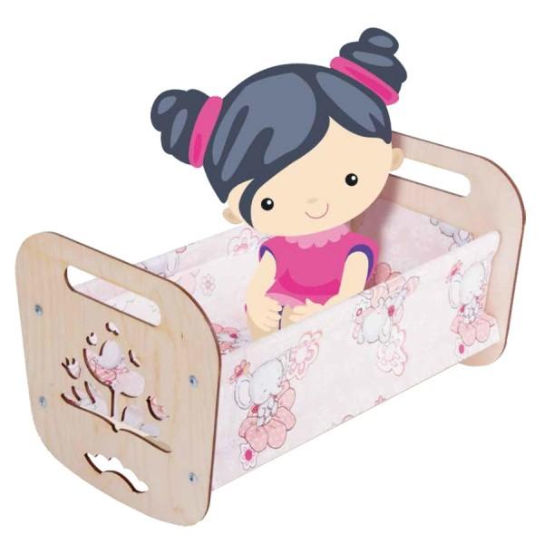 Кроватка для кукол «Катюша». 02945