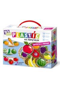 Пластик на липучках «Фрукты и овощи». 02865