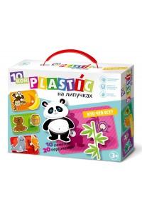 Пластик на липучках «Кто что ест?». 02837