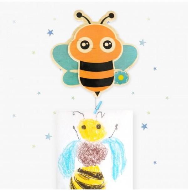 """Крепление для рисунков с тросом """"Веселая пчелка"""". Н-39914Т"""