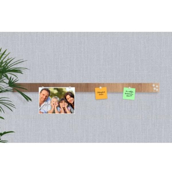 Базовая магнитная панель 100х7 см светлое-дерево PRINTECH. 41386
