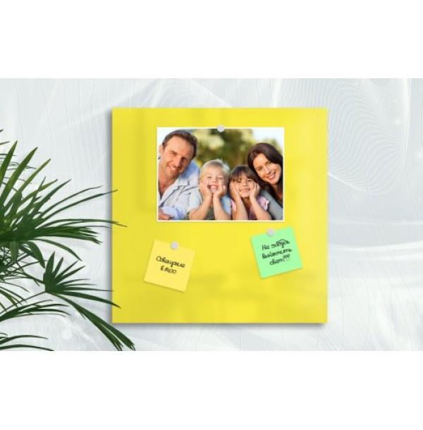 Базовая магнитная панель 25х25 лимонно-желтый. 41936