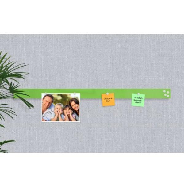 Базовая магнитная панель 100х7 ярко-зеленая. 42557