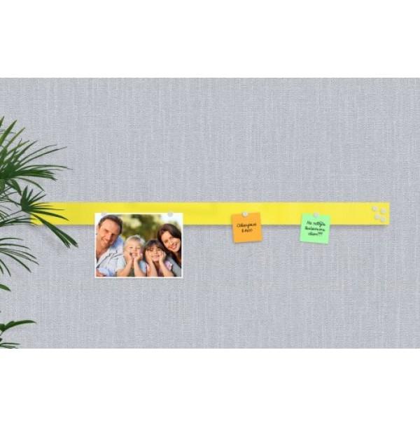 Базовая магнитная панель 100х7 лимонно-желтая. 41952