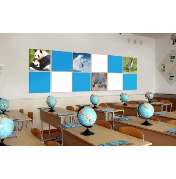 Комплект магнитных панелей для кабинета географии и биологии. 44592