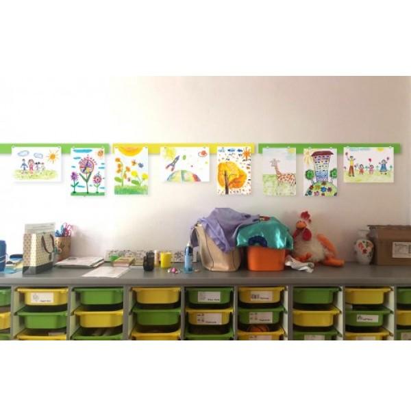 Комплект магнитных панелей для детских рисунков. 44594