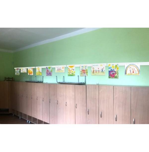 Комплект панелей для выставки рисунков. 44595