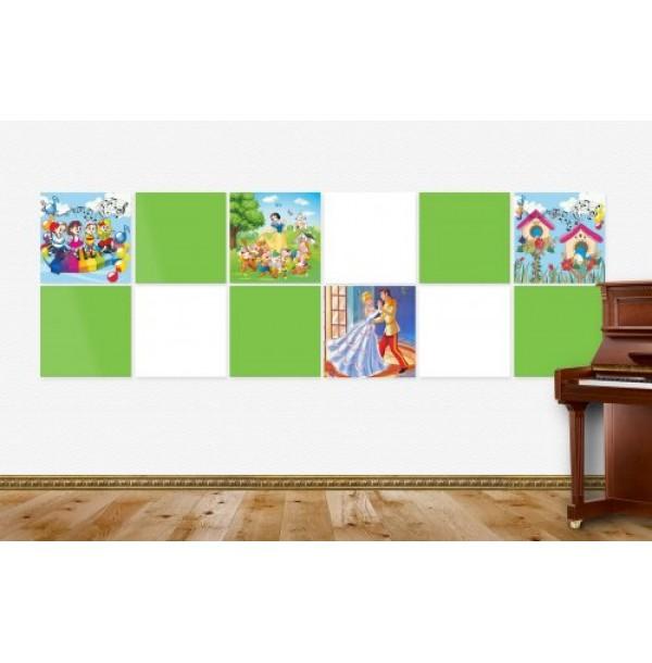 Композиция магнитных панелей для музыкального зала. 44655