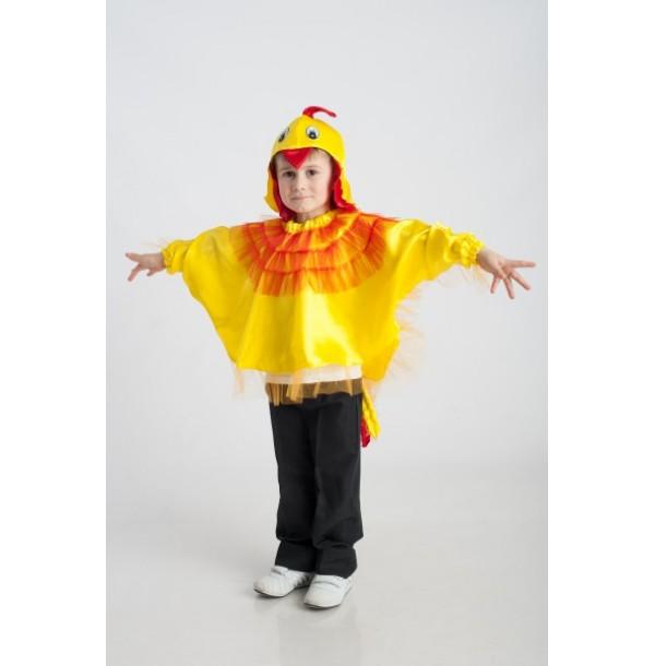 Петушок (курочка) (шапочка + накидка — крылья и хвост + нагрудник). 91023