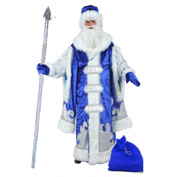 Дед Мороз Царский.Синий. 778