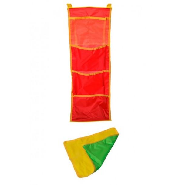 кармашки в кабинку (20х60) + коврик для ног. 64002/1