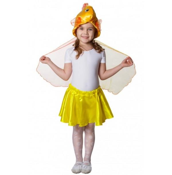 Золотая рыбка (шапочка). 91027
