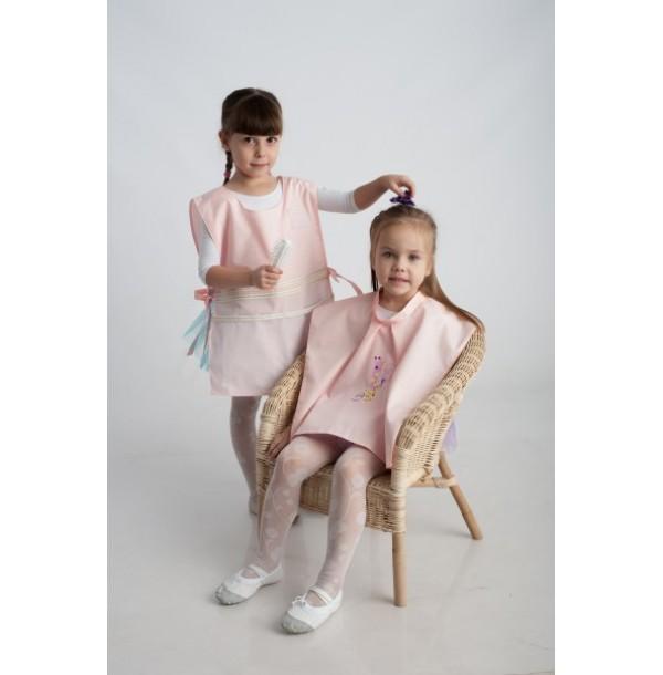 Парикмахер ( фартук + накидка для клиента — ребенка). 61007