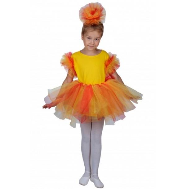 Осенний букет (костюм)Юбка + нарукавники + головной убор. 93011