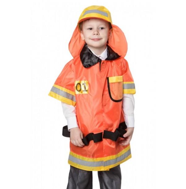 Пожарный (курточка + шапка). 61024