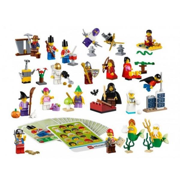 Сказочные и исторические персонажи LEGO(Fantasy Minifigure Set). 45023