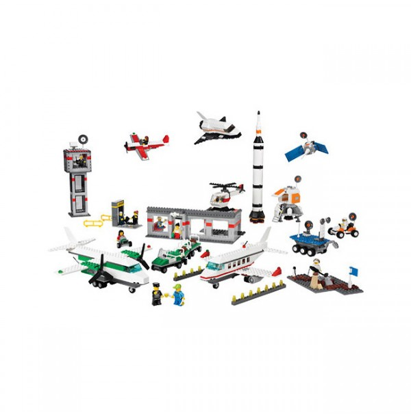 Космос и аэропорт LEGO (Space and Airport Set). 9335