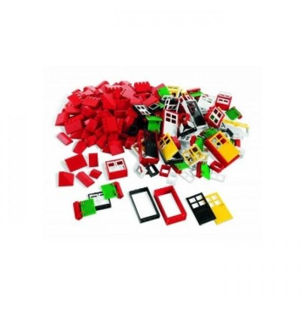 Окна, двери и черепица для крыши LEGO(Doors, Windows & Roof Tiles) 9386