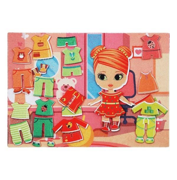 Одежда для девочки с игровым полем фетр. LIP1122