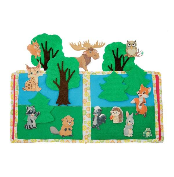 Животные леса. LIP1112