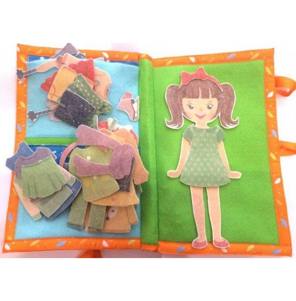 Книга Одежда для девочки. LIP1114