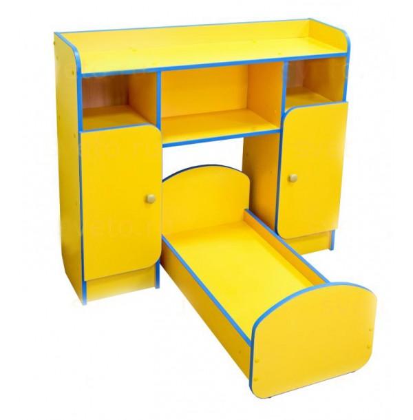 Набор мебели игровой (спальня) «Соня». св4