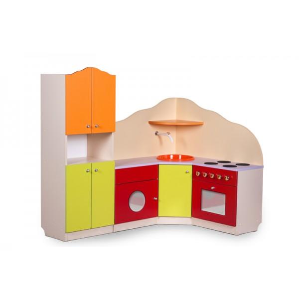 Игровая зона Кухня угловая с буфетом Вкусняшка. пар4