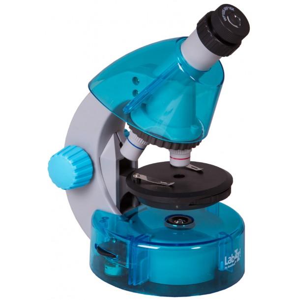 Микроскоп Levenhuk LabZZ M101 Azure\Лазурь.  69301