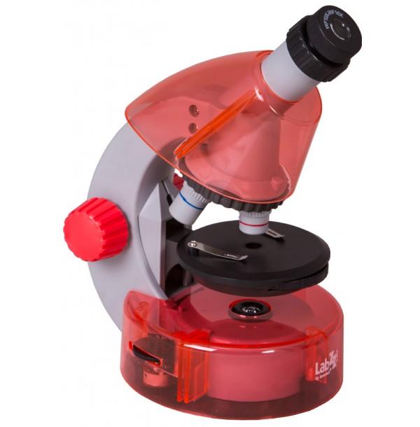 Микроскоп Levenhuk LabZZ M101 Orange\Апельсин. 69730