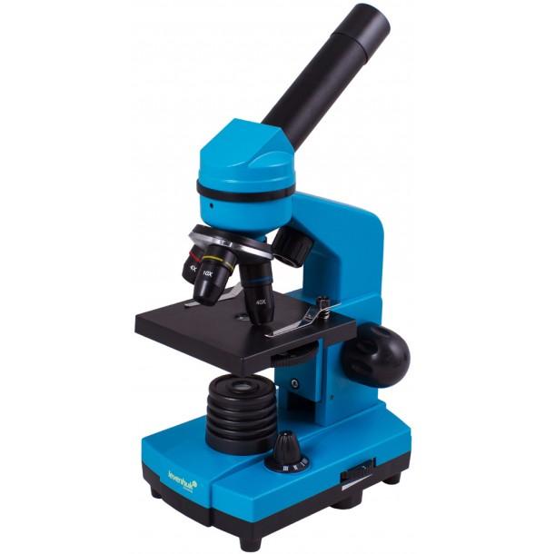 Микроскоп Levenhuk Rainbow 2L Azure\Лазурь. 69037
