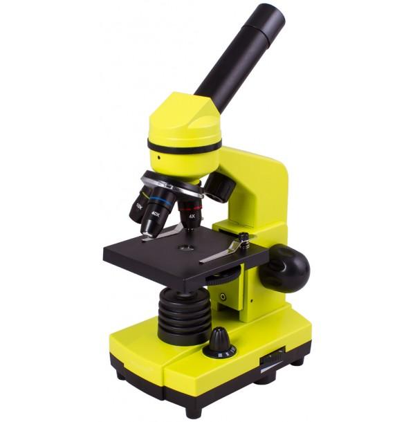 Микроскоп Levenhuk Rainbow 2L Lime\Лайм. 69038