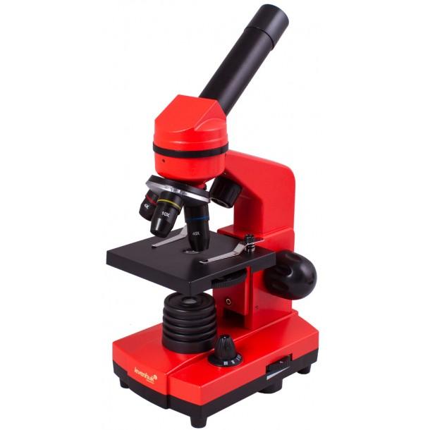 Микроскоп Levenhuk Rainbow 2L Orange\Апельсин.  69039