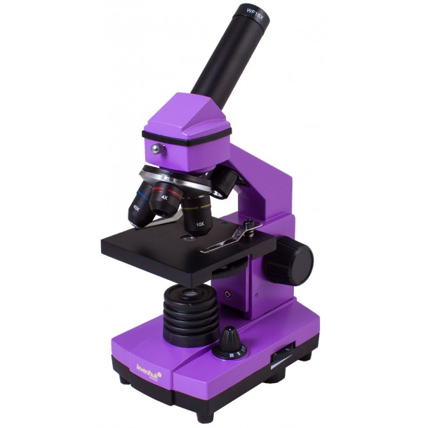 Микроскоп Levenhuk Rainbow 2L PLUS Amethyst\Аметист. 69042